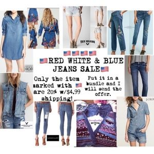 Jackets & Blazers - 🇺🇸 RED WHITE & BLUE JEANS SALE 🇺🇸
